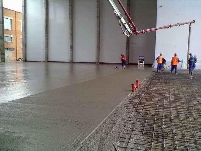 Бетонные смеси для ремонта пола тощий бетон до плиты